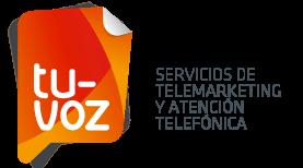 Logotipo de Tu Voz - Call Center con plataforma en Valencia